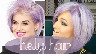 HOW TO: Kelly Osbourne hair | Lilac Lavander Purple Hair