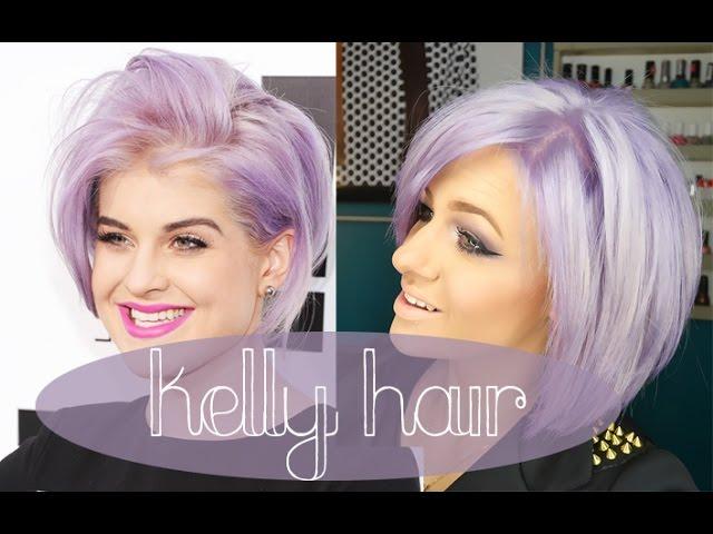 How To Kelly Osbourne Hair Lilac Lavander Purple Hair Youtube