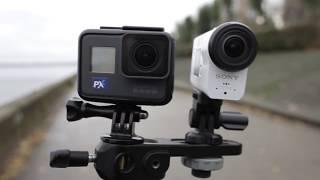 GoPro HERO6 VS Sony FDR X-3000 Глюки гоупрошки. Лучшая камера для блогеров.