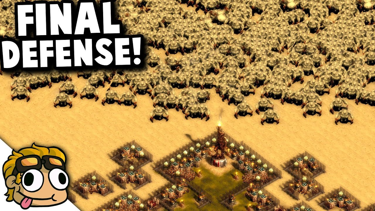 ULTIMATE DEFENSE vs ULTIMATE FINAL WAVE! | They Are Billions Custom Map  Gameplay