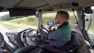 [GO PRO] Moisson 2018 - Fendt 828 S4 Black & Fliegl au Transport ! (CabViews)