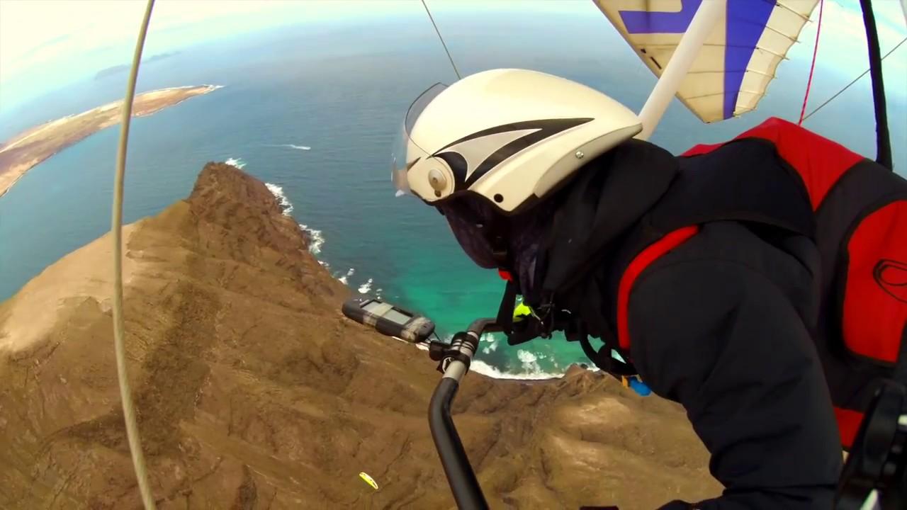 Hanggliding Lanzarote December 2017