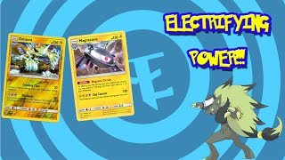 Pokemon PTCGO Zeraora Magnezone Deck Profile & Battles!!