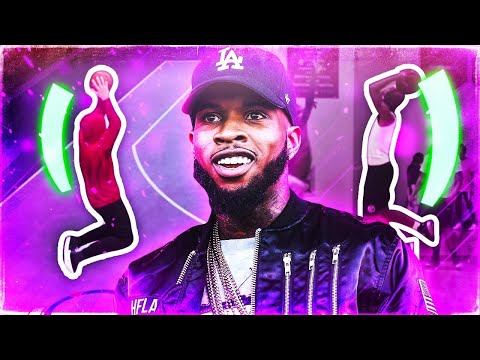 SH00TING WITH TORY LANEZ'S REAL LIFE JUMPSHOT 😱 HALF COURT GREENS W/ THE BEST JUMPSHOT IN 2K19!