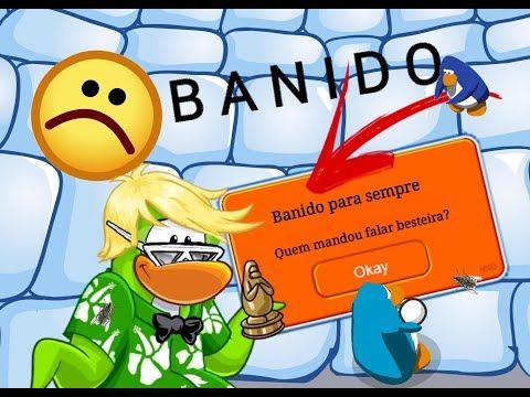 FUI BANIDO PARA SEMPRE DO CLUB PENGUIN BRASIL??[Taborda4 Oficial]