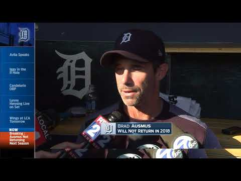 Ausmus on parting ways with the Tigers