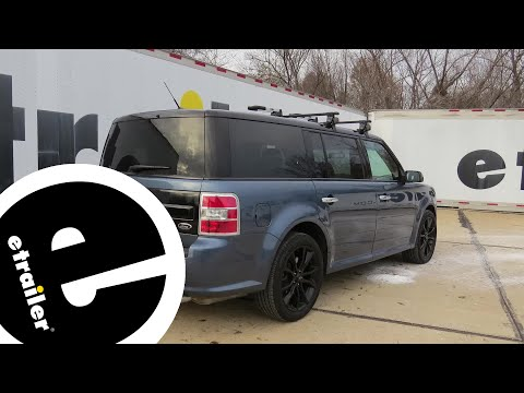 etrailer | Trailer Hitch Installation - 2018 Ford Flex - Draw-Tite