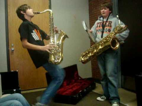 Everyday Life at the Teen Center: Sax Day