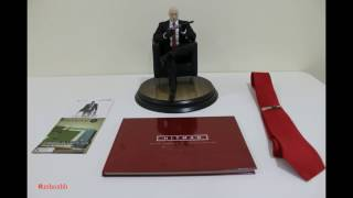 unboxing hitman collectors edition ps4 فتح علبة