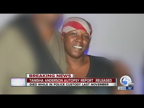 NOON: Full autopsy released in Tanisha Anderson's death in Cleveland Police custody