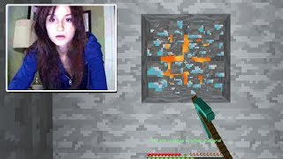 So I trolled this girls FIRST DAY on minecraft...
