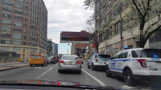 NY City China Town and Marco Polo in the Holland Tunnel