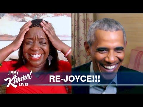 President Barack Obama Surprises Amazing Fan