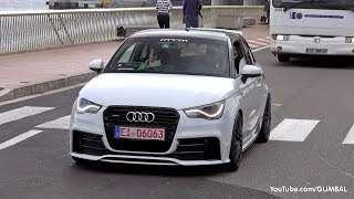 Audi A1 Quattro MTM 410HP - Lovely Sounds!