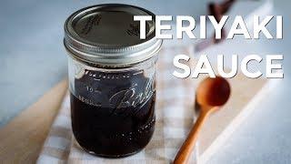 How to Make TERIYAKI SAUCE (Recipe) 照り焼きのたれの作り方 (レシピ)