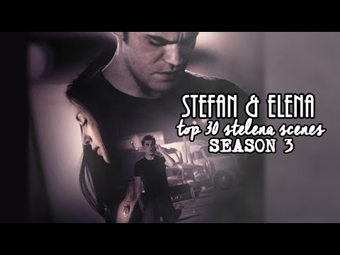 Top 30 Stefan & Elena scenes | Season 3 HD