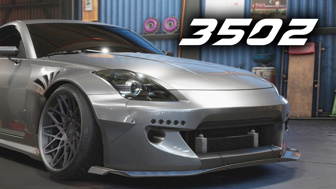 Need For Speed Payback 350z Customization What I Could