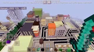 Arkadaşım mertle Minecraft oynadık