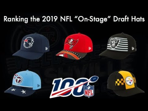 Ranking All 30 NFL DRAFT HATS (2019 Edition)