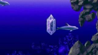 Ecco:  Tides of Time Sega CD Crystal Springs Glyph Puzzle (Part 2)