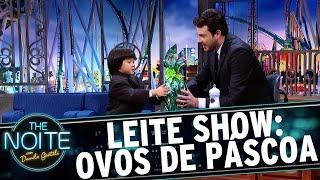 Leite Show: Crianças ganham ovos de páscoa | The Noite (10/04/17)