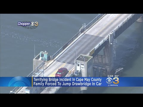 Couple Recounts Terrifying Moments Being Stuck On Rising Bridge In South Jersey