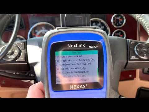 NexLink NL102P Review - Must Have Tool To Force DPF Regen & Code Reset For Owner Operators