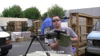 Airsoft GI - A&K Full Metal M60 Machine Gun AEG