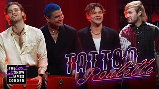 Tattoo Roulette w/ 5 Seconds of Summer