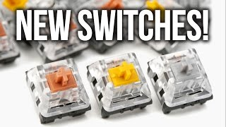 NEW Mechanical Keyboard Switches! Gold, Silver, Bronze & Copper