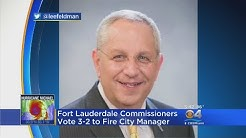 Fort Lauderdale City Manager Fired
