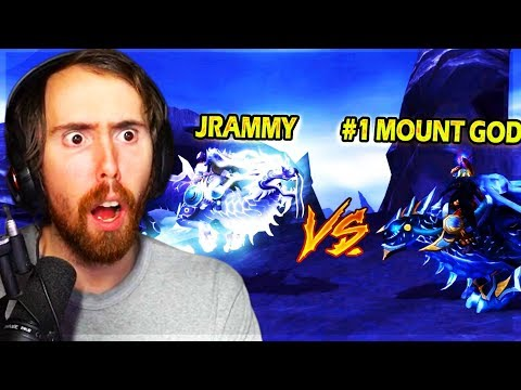 Asmongold Most INSANE MOUNT OFF EVER - Jrammy VS #1 Mount Collector In The WORLD