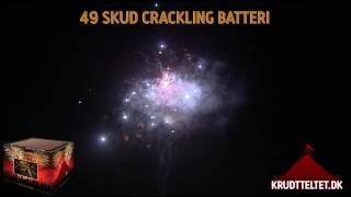 Krudtteltet 49 skuds crackling batteri