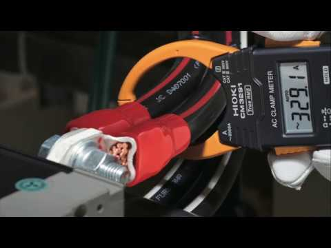 Hioki AC Clamp Meter CM3291|Get into tight spaces even with large jaw
