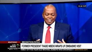 Ibbo Mandaza on the Zimbabwe crisis and Mbeki's visit