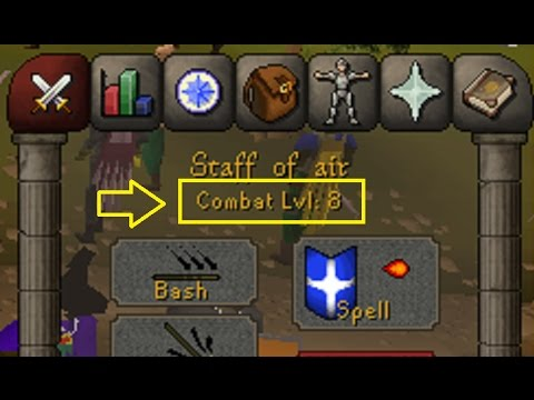 lvl 8 hitting 8s in world 8 (f2p osrs) fire strike pure pking