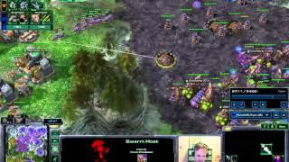 Mass Ravens vs GrandMasters Zerg - Starcraft 2 HotS
