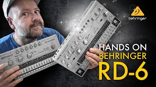 Behringer RD-6 - Unboxing, Hands On und Test [deutsch]