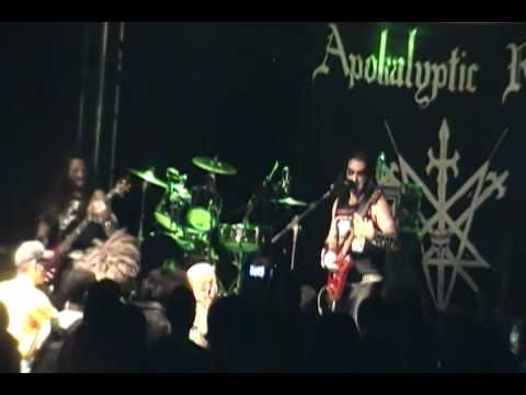 APOKALYPTIC RAIDS Victory Beyond Imagination (New song) - Live at Refúgio Macabro Fest - Brazil