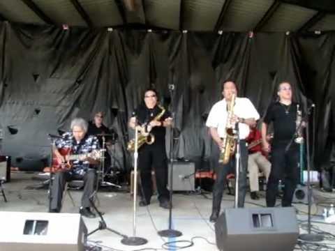 The West Side Horns RAINBOW RIOT 8/26/12 Austin Chronicle Hot Sauce Festival