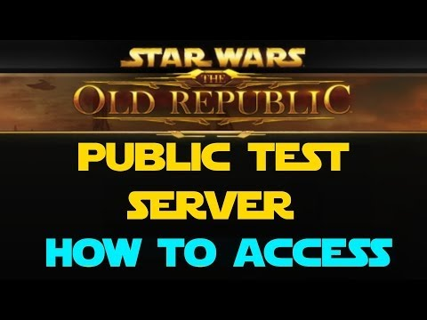 SWTOR Public Test Server How To Access/Download/Play on PTS
