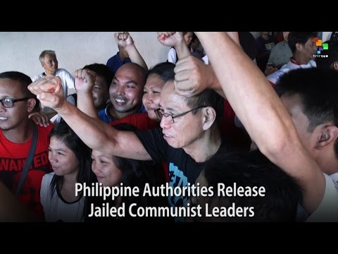 Philippine Authorities Release Jailed Communist Leaders