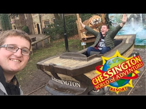 Chessington World Of Adventures Preview Day Vlog March 2018