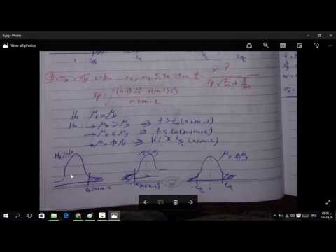 25 - Test Hypothesis For Difference Between Two Mean