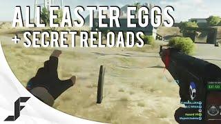 Secret Reloads + Battlefield Hardline Beta Easter Eggs!