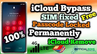 Iphone Disabled &  icloud Bypass Permanently Unlock iphone| ipad SIM Working Data Fixed IOS 13.7
