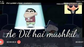 Ae dil hai mushkil || Shinchan Animierte Remix || Preet moralischen || arischen || Krrish