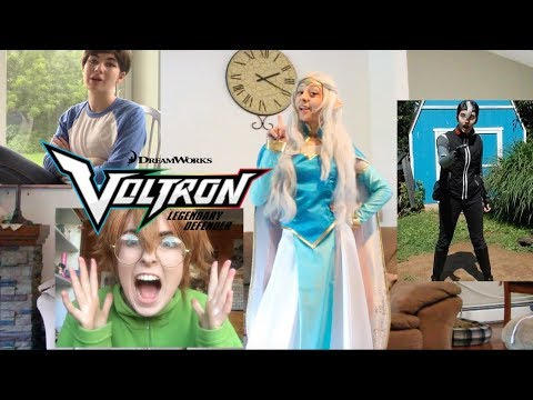 You reformed voltron in the wrong universe- COSPLAY EDITION