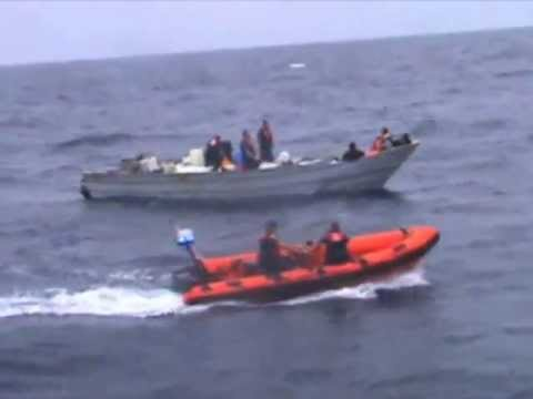 Coast Guard, Mexican Navy Disrupt Smuggling Attempt