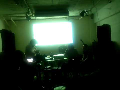 KO.DO.NA (trumpet)&Matthew Yee-King (live coding, AI drummer) (Rephlex, Chord Punch)